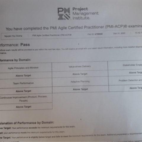 7A PMI-ACP