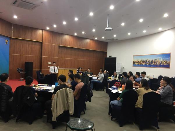 Lớp học đào tạo inhouse tại Công ty Esoft Vietnam – Lĩnh vực Công nghệ của PMA