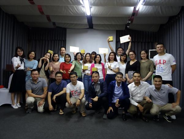 Lớp học đào tạo inhouse tại Ngân hàng Vietcombank – Lĩnh vực Ngân hàng của PMA