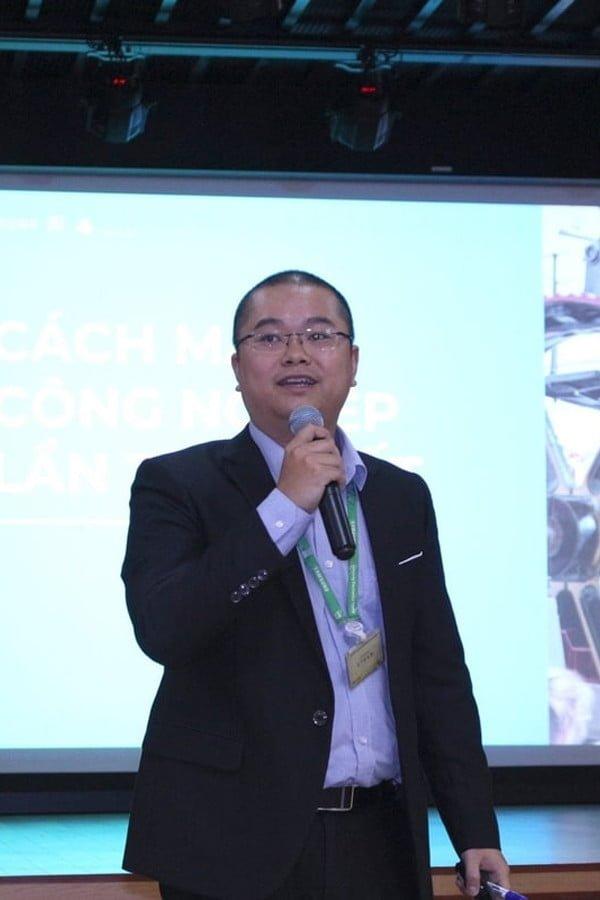 Giảng viên Nguyễn Xuân Bình tại PMA